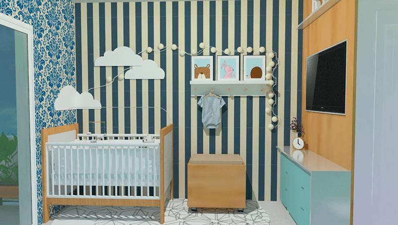 Interiores Quarto bebe